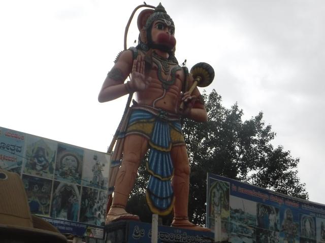 Hanuman temple outside Bangalore