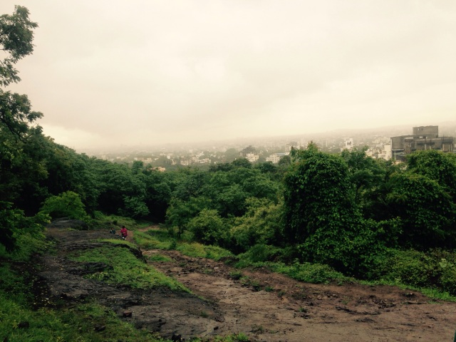 Hanuman Hill - my preferred way of seeing a city