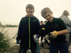 lake erie Ohio beach cleanup