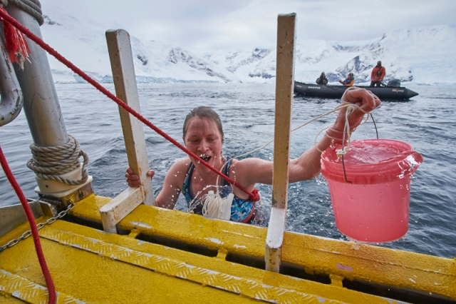 victory water bucket Polar Plunge 32